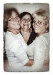 My sisters, Susan, MaryEllen and me!