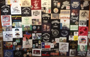 Willie Nelsons Family memory quilt